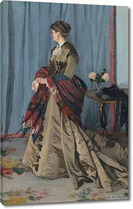 Моне Клод. Портрет мадам Годибер, 1868