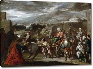 Кастильо и Сааведра Антонио. Триумф Иосифа в Египте