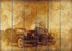 Классические автомобили фон
