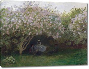 Моне Клод. Сирень, Пасмурная Погода, 1872