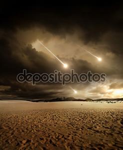 Метеоры в небо