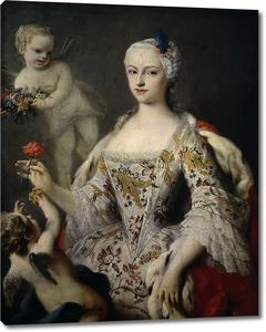 Амигони Якопо. Антония Мария Фернанда де Бурбон-Фарнезе, инфанта Испании