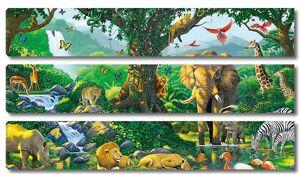 Дикие животные на водопое