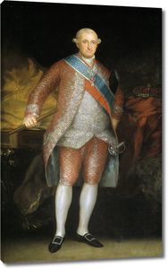 Гойя и Лусиентес Франсиско де. Карлос IV