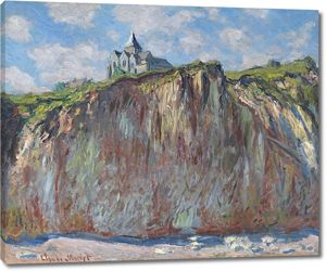 Моне Клод. Церковь в Варанжвиле, 1882 01