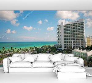 Панорама отеля на берегу моря