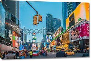 Таймс-сквер на декабрь