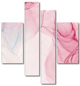 Мраморная розовая фактура