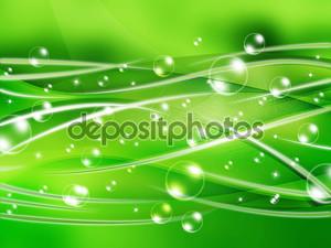 пузырь зеленый абстрактный фон