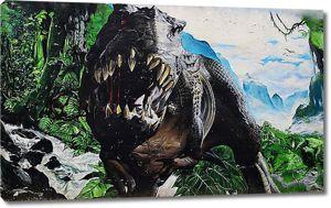 Зубастый динозавр