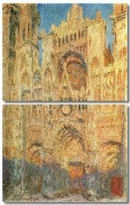 Моне Клод. Руанский Собор на закате, 1894