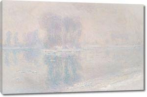 Моне - Лед на Сене в Бенекуре