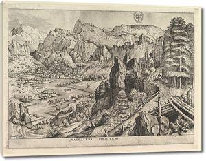 Брейгель. Пейзаж с кающейся Марией Магдалиной