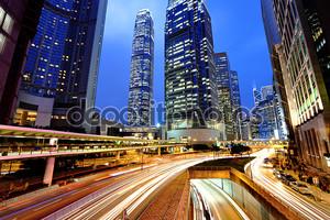 Гонконг, ночные дороги