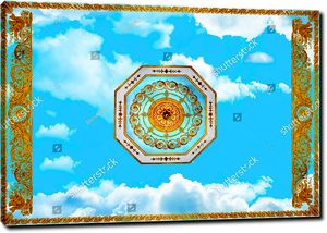 Небо с царским орнаментом