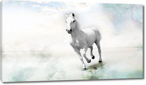 Бег белой лошади