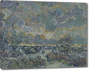 Ван Гог. Хижины и кипарисы – воспоминание о Северном Брабанте