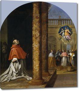 Кардучо Висенте. Назначение кардиналом св. Никколо Альбергати