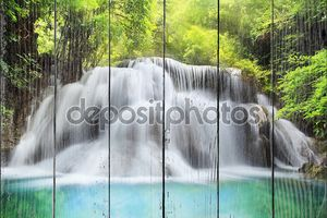 Пейзаж таиландского водопада