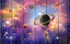 Яркий космический фон