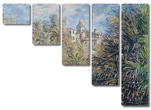Моне Клод. Сад Морено в Бордигере, 1884