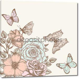 Роуз и бабочка 2