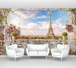 Ажурная терраса в Париже