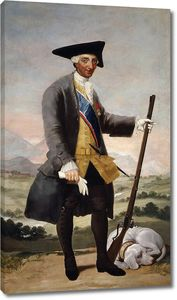 Гойя и Лусиентес Франсиско де. Карлос III на охоте