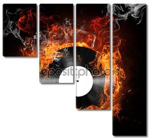 Пламенная музыкальная пластинка