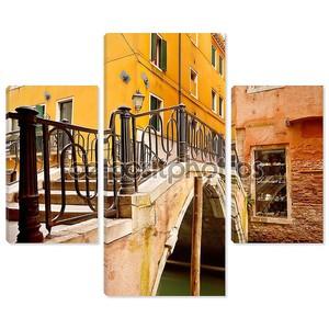 Маленький мост в Венеции