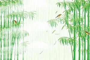 Птички на бамбуке