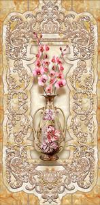 Орхидеи в золотом кувшине