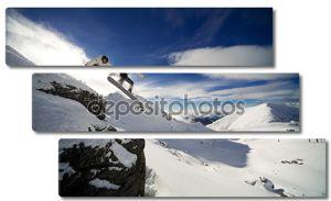 Падение скалы Сноуборд
