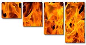 Пламя открытое