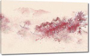 Розовые склоны