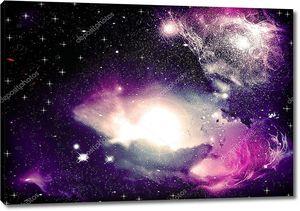 Фантазия Космическая туманность