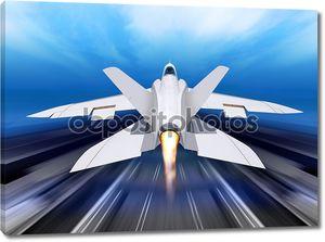 Самолет истребитель перехватчик