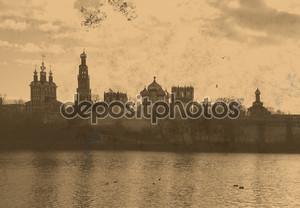 Новодевичий монастырь Винтаж Фото