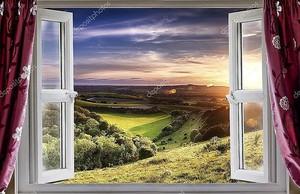 удивительный вид из окна