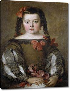 Антолинес Клаудио Хосе Висенте. Портрет девочки