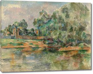 Поль Сезанн. Берег реки