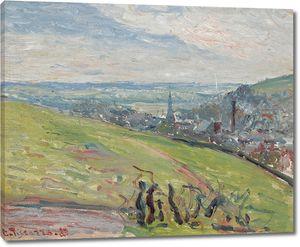 Камиль Писсарро. Окрестности Руана