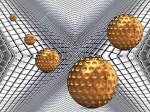 Металлические  шары