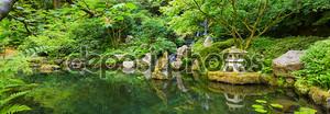 Красивый японский сад