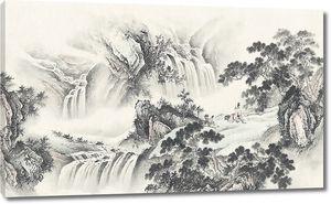 Многоуровневые  водопады