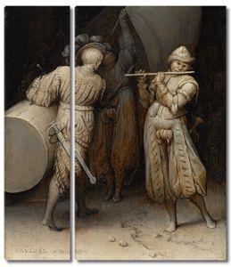 Брейгель Три солдата