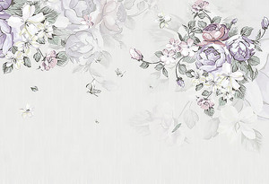 Букеты цветов в нежных тонах
