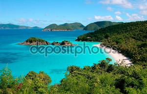 Trunk Bay на острове Сент-Джон