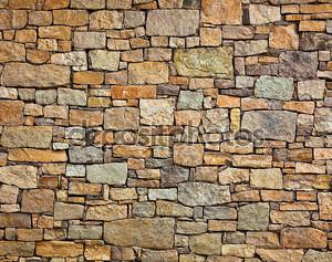 Имитация каменной стены