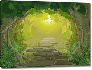 магия вход пейзаж